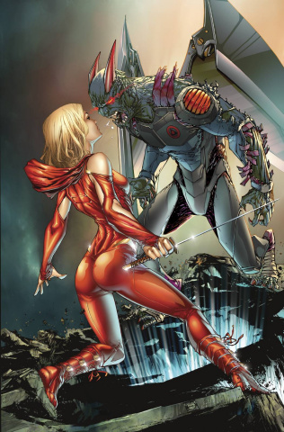 Grimm Fairy Tales: Code Red #5 (Caldwell Cover)