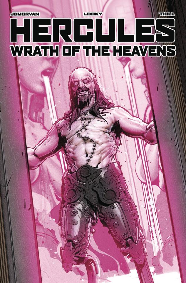Hercules: Wrath of the Heavens #3 (Looky Cover)