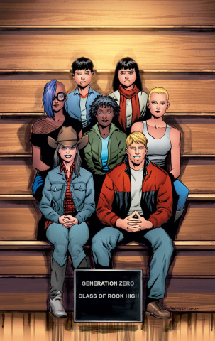 Generation Zero #9 (Peeples Cover)