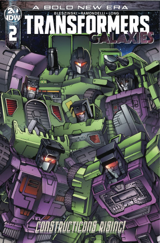 Transformers: Galaxies #2 (10 Copy Griffith Cover)