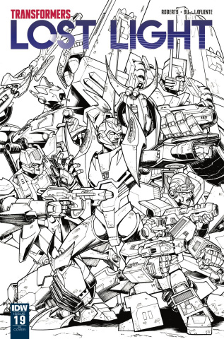 The Transformers: Lost Light #19 (10 Copy Cover)