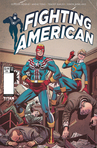 Fighting American: The Ties That Bind #1 (Ordway Cover)