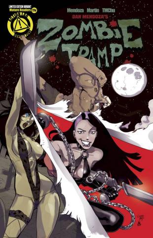 Zombie Tramp #11 (Vampblade Cover)