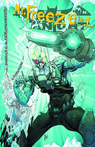 Batman: The Dark Knight #23.2: Mr Freeze Standard Cover
