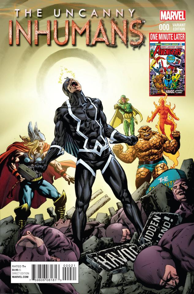 The Uncanny Inhumans #0 (Perkins Avengers Var Cover)