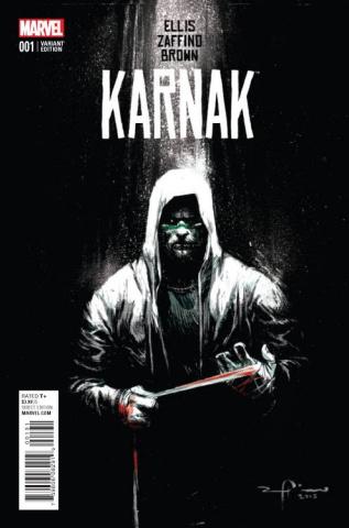Karnak #1 (Zaffino Cover)
