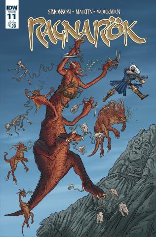 Ragnarök #11 (Subscription Cover)