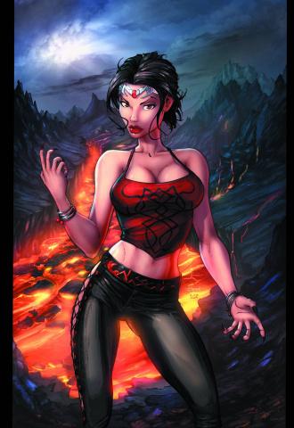 Grimm Fairy Tales: Dark Queen (Ehnot Cover)