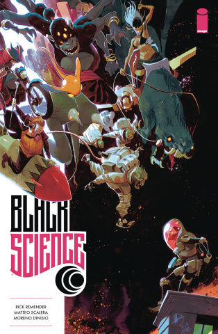 Black Science #31 (Scalera & Dinisio Cover)