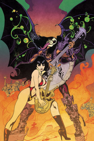 KISS / Vampirella #1 (30 Copy Castro Virgin Cover)