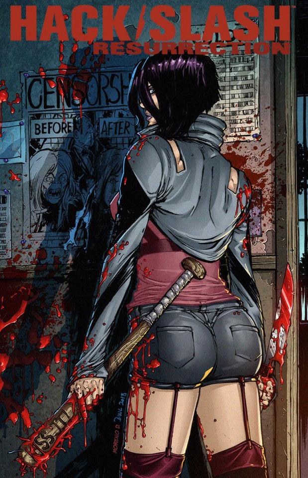 Hack/Slash: Resurrection #12 (Leister Cover)