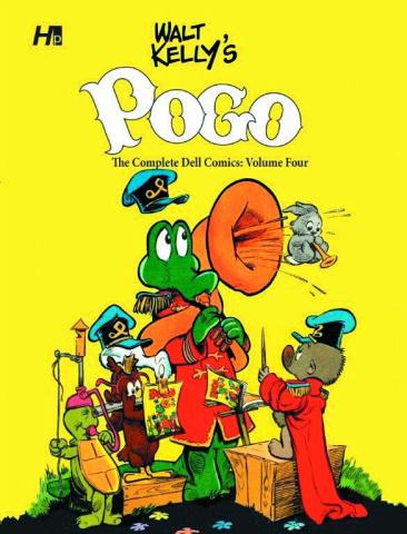 Pogo: The Complete Dell Comics Vol. 4