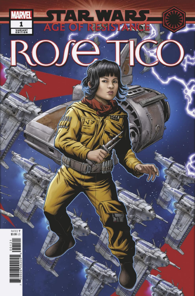 Star Wars: Age of Resistance - Rose Tico #1 (McKone Puzzle Cover)