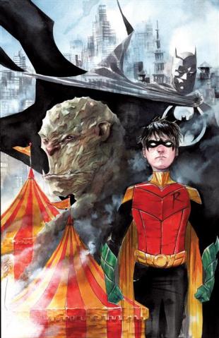 Robin & Batman #2 (Dustin Nguyen Cover)