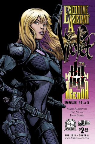 Executive Assistant Violet #1 (Mhan Cover)