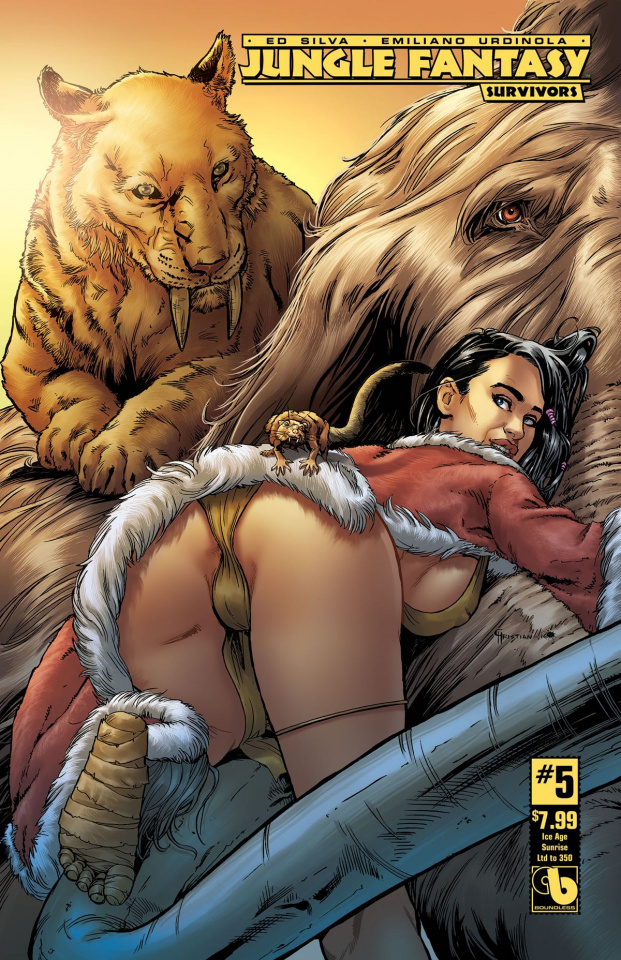 Jungle Fantasy: Survivors #5 (Ice Age Sunrise Cover)