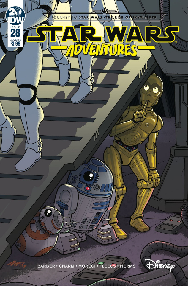 Star Wars Adventures #28 (Fleecs Cover)