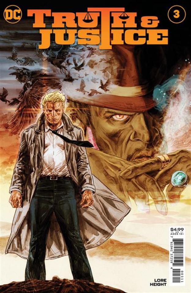 Truth & Justice #3 (Doug Braithwaite Cover)