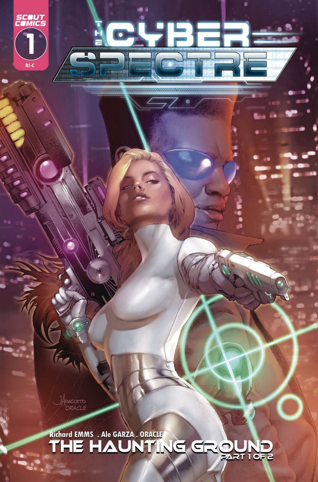 The Cyber Spectre #1 (Jay Anacleto Cover)