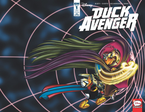 Duck Avenger #1 (10 Copy Cover)