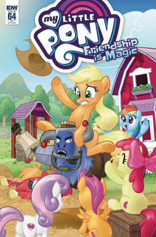 My Little Pony: Friendship Is Magic #64 (10 Copy Cover)