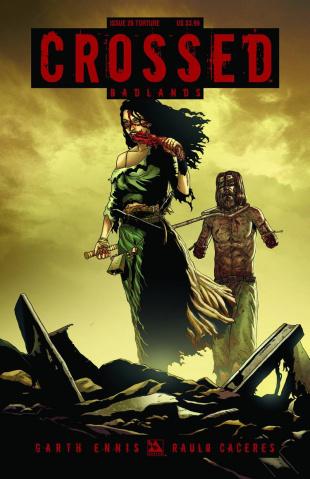 Crossed: Badlands #26 (Torture Cover)