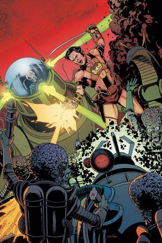 Warlord of Mars Attacks #4 (40 Copy Laming Virgin Cover)