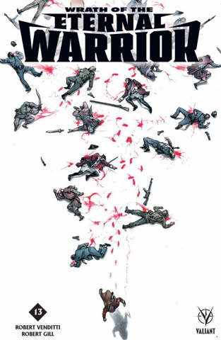 Wrath of the Eternal Warrior #13 (Barrionuevo Cover)