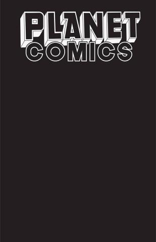 Planet Comics Sketchbook (Black Hole Edition)