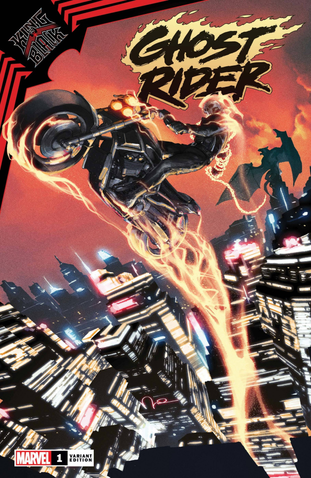King in Black: Ghost Rider #1 (Parel Cover)