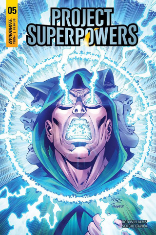 Project Superpowers #5 (Royle Cover)