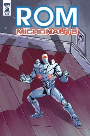 ROM & The Micronauts #3 (Ossio Cover)