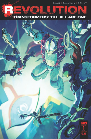The Transformers: Till All Are One - Revolution #1 (Subscription Cover)