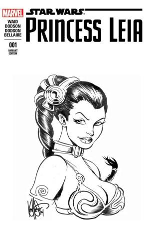 Princess Leia #1 (Haeser Leia Sketch Cover)