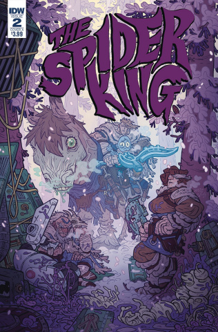 Spider King #2 (Darmini Cover)