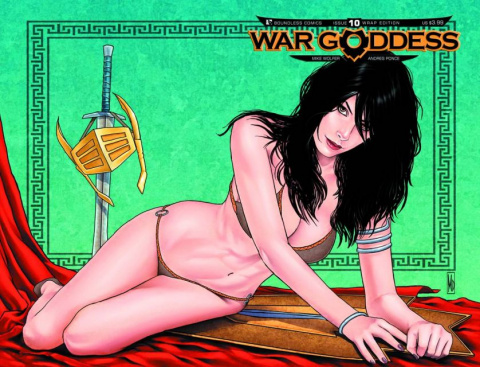 War Goddess #10 (Wrap Cover)