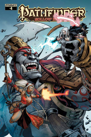 Pathfinder: Hollow Mountain #4 (Gomez Cover)