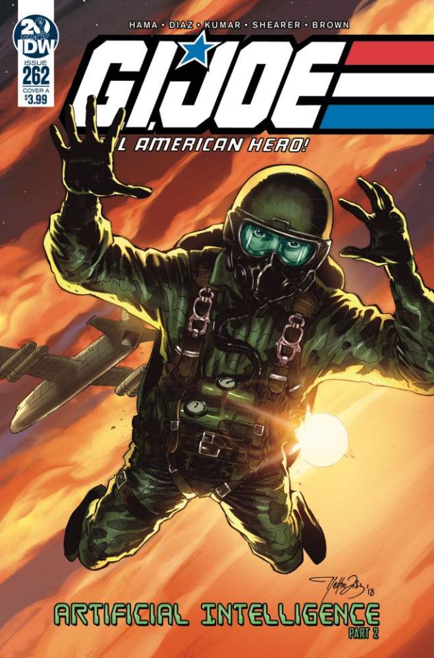G.I. Joe: A Real American Hero #262 (Diaz Cover)