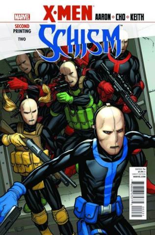 X-Men: Schism #2 (2nd Printing)