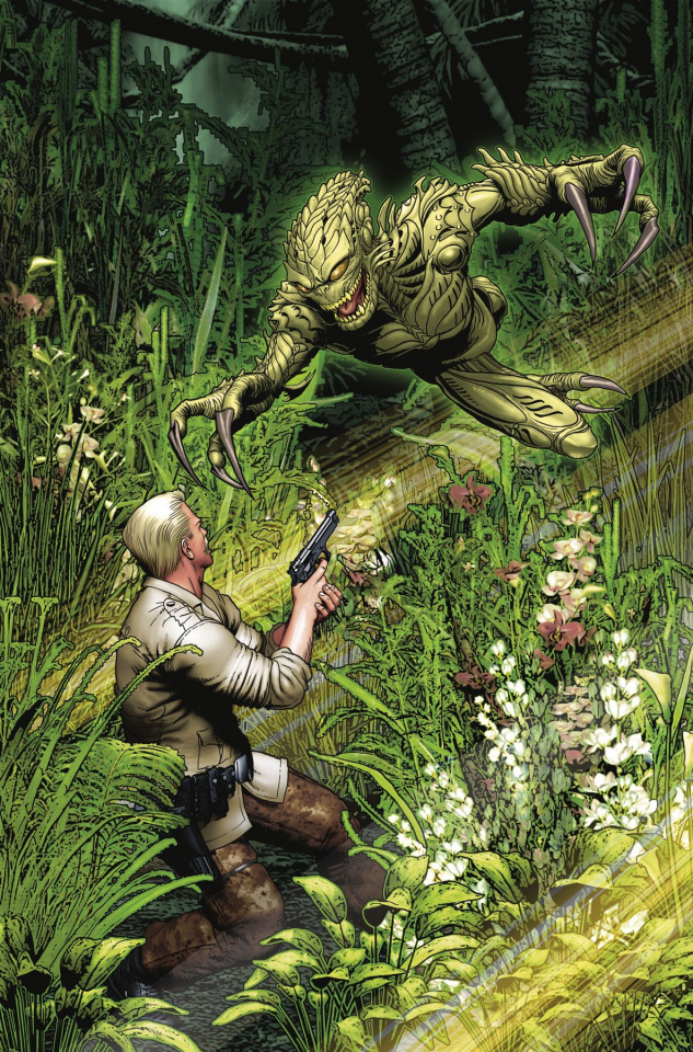 Predator: The Original Screenplay #1 (Borstelmann Cover)