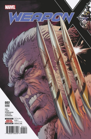 Weapon X #2 (2nd Printing Land)