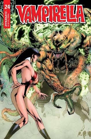 Vampirella #24 (Bonus Castro Cover)