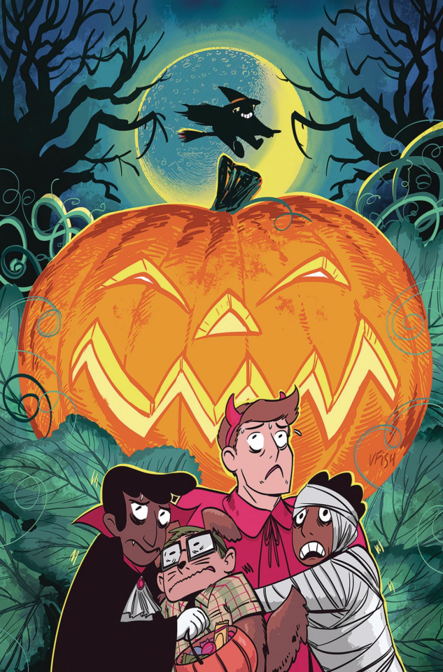 Backstagers: Halloween Intermission #1 (10 Copy Fish Cover)