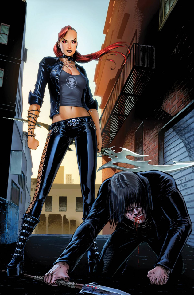 Grimm Fairy Tales: Hellchild #4 (Metcalf Cover)