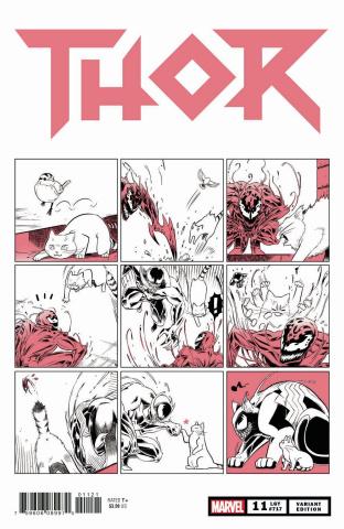 Thor #11 (Fuji Cat Cover)