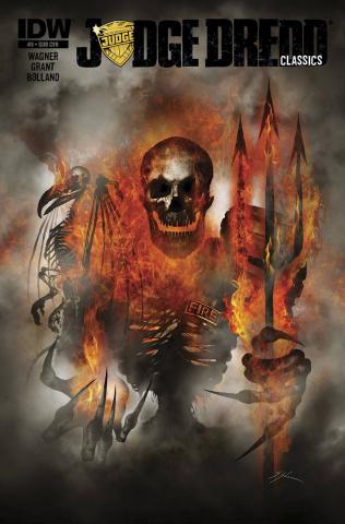Judge Dredd Classics: The Dark Judges #3 (Subscription Cover)