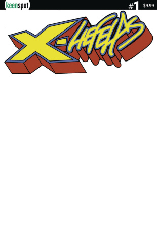 X-Liefelds #1 (Blank Sketch Cover)
