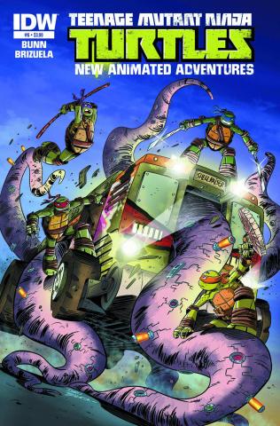 Teenage Mutant Ninja Turtles: New Animated Adventures #6