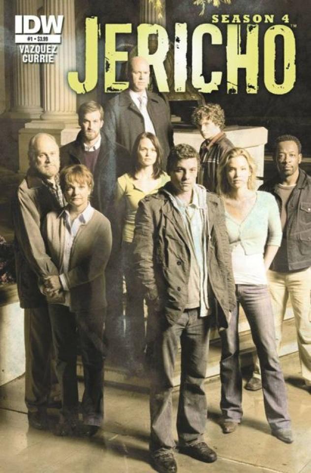 Jericho: Season 4 #1