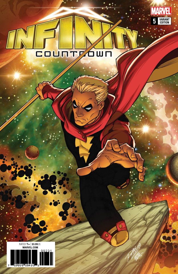 Infinity Countdown #5 (Lim Cover)